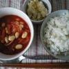トマト缶を使ったスープで、かんたん洋風朝ごはん