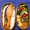 20180329焼鮭弁当&「楽々カロリー管理」アプリをダウンロードしてみた。