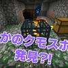 【マイクラ】ブレイズトラップ準備中にクモスポナーを発見⁈ #14