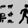 """爬虫類、哺乳類、人類の3分類 """"パターンから逆引きする"""""""