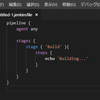 【Visual Studio Code】Jenkinsfile のシンタックスハイライトやスニペットが使用できる拡張機能「JenkinsFile Support」紹介