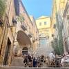 【ジローナのレストラン】「Café le Bistrot」テラス席とカタルーニャ料理を堪能