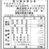 株式会社スタジオジブリ 第15期決算公告 / ジブリ作品興行収入ランキング