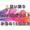 🎗買い回り2000円ジャストお勧め12選楽天🎗