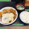 🚩外食日記(684)    宮崎ランチ   「竜宮ラーメン」⑩より、【チキン南蛮定食】‼️