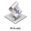 AppleScript を使って MacPorts や Homebrew の Wine を起動する