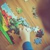 【くもんのジグソーパズル】これで遊ばせている間に家事ができる