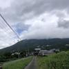雨が降った後の筑波山に山行へ