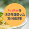 【キャッシュレス生活】PayPay(ペイペイ)を毎日スーパーで使っている私のリアルな口コミブログ