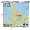 2016年12月08日 19時59分 上川地方中部でM3.2の地震