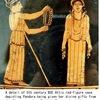 パンドーラー3  ヘーシオドス 仕事の日 松平千秋訳 岩波文庫  パンドーレの物語 「神統記」にあるパンドーラの物語には箱(壺.甕)は出てきておらず,女性が諸悪の根源であるという記述が続いています.箱(壺.甕)が出てくるこの「仕事の日」の物語も主題は同じと思っていいようです.現代には全くそぐわない男本位の説話と言ってもよいようですね.ただ,箱(壺.甕)に最後に残った「エルピス(希望)」に焦点を当てれば,とてもよい説話にもなります.