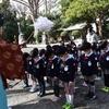 さきとり幼稚園年長組 奨学神社参拝