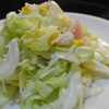 春キャベツと新玉ねぎのおから入サラダ、柑橘の香り