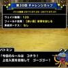 level.482【ウェイト120・赤い霧】第30回闘技場チャレンジカップ初日