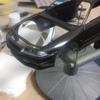 3連休最後 【32GTR】ボディクリアーを塗装⑧