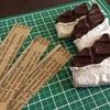チョコレートのブローチ