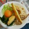 夏休みの昼ご飯