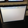 Sub-display case for iPad reatina LCD+Abusemark's board -サブディスプレイケースの作製-