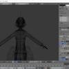 【祝】blenderで作ったオリジナルモデルがhitogataで動くようになりました
