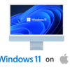 Windows 11、MacのBoot Campでは動作せず ~ Intel Macでも互換性はなく