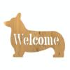 コーギー Welcome board ~糸ノコhandmade~