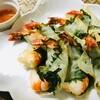 9月1日【揚げ物レシピ】プリプリの海老を大葉と合わせて揚げました♪カリッ、ぷりっと良い音!