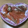 業スーの炙りトロサーモンハラスで作ったスモークサーモン
