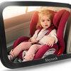 車に赤ちゃんを乗せてると気になる後部座席?
