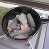 男の夢実現、備長炭で焼肉