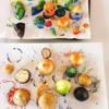 〈アートワークショップ〉野菜ハンコでハンカチづくり