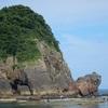 山陰海岸・香住の海へ♪今子浦キャンプ場と温泉と天空の城