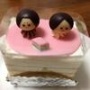 老舗洋菓子店の「ひなまつりケーキ」が懐かしい。(お題スロット:「思い出の味」)