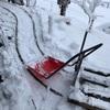 雪かきはタイミングが命!雪キノコとスノープロウ大作戦