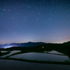 星降る春の棚田