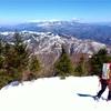 【恵那山】2014年3月14日  まさかのビバーク! でも結果オーライ。(テント泊登山)