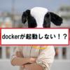【OCI runtime create failed】dockerが起動しないときの対処法。