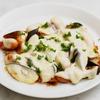 フライパンで作る茄子とウインナーのケチャップチーズ焼きのレシピ