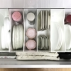 【食器棚の収納】 大きなお皿や平皿の収納方法