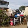 台風19号、浸水被害の泥だし、ゴミ出しにボランティアが活躍