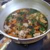 幸運な病のレシピ( 1401 )夜:蒸し焼売(市販品)、汁(湯通しシャブシャブ肉)
