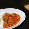 ハヤシライス?、スープ