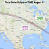 2017年8月のアメリカ皆既日食、個人で行くには?早めの準備が肝心!