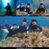 2組で青の洞窟Dive!