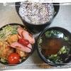 最近の食事と弁当と野菜。