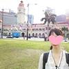 【マレーシアに女子1人旅・24】ピンクの建物が可愛いムルデカ広場へ