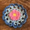 【手芸】可愛いこもの。かぎ針編みでなんとなく作ってみた。長編み、細編み、くさり編み、中長編み。