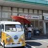 オークワ堺美原店にcotona(ヒーローズ)さん登場♪黄色のおしゃれな移動販売車