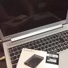 ノートPC 買い替え♪→SSDに付け替え♪