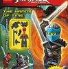 2017年2月28日新発売! 洋書「Activity Book With Minifigure (Lego Ninjago)」ミニフィギュア付き