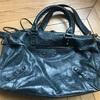 バレンシアガのバッグの修理;「色がはげているので、似たようなトーンで色を付け直したいです」・・・K's factory